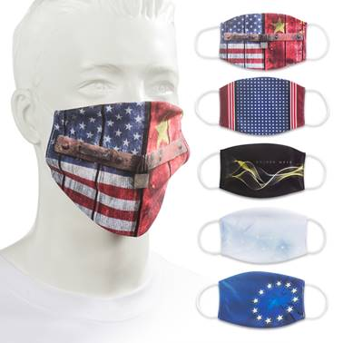 Custom Moisture Wicking Face Mask